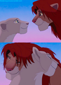 disney lion king simba and nala