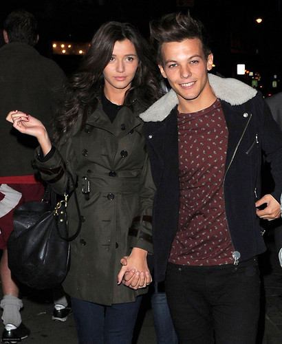 how did louis tomlinson and eleanor calder meet yahoo
