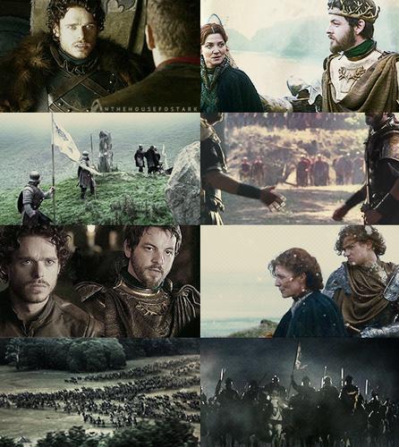 Game of Thrones AU → Robb Stark / Renly Baratheon alliance
