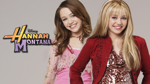 Hannah Montana wallpaper with a portrait titled hannah montana