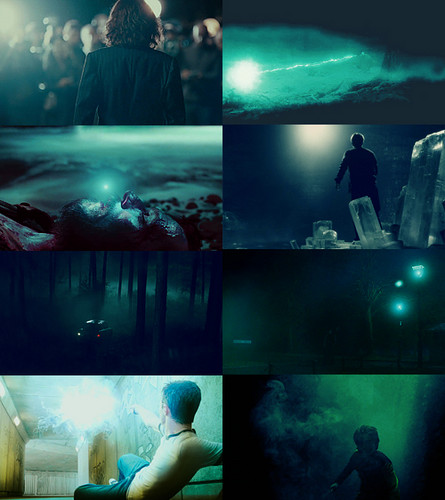 harry potter → blue