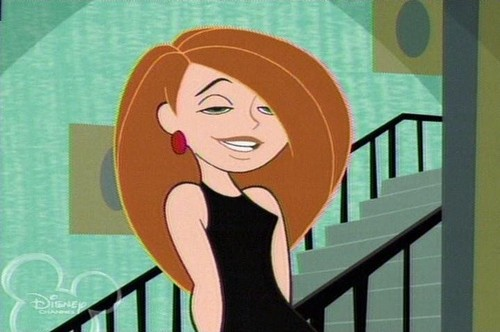 Kim Possible wallpaper possibly containing anime titled hot and sexy kim