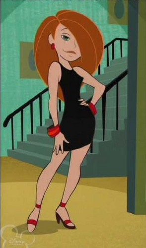 Kim Possible वॉलपेपर containing ऐनीमे entitled hot and sexy kim