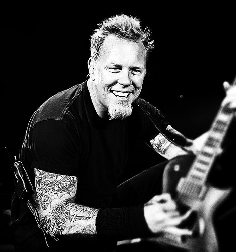 James Hetfield wallpaper with a guitarist and a concert titled james