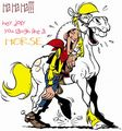 lucky luke - cartoons photo