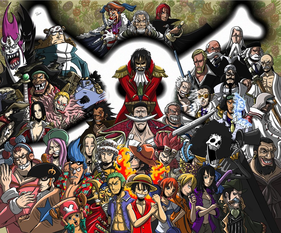 One Piece Characters One Piece Photo 32443821 Fanpop Page 6