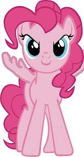 pinkie as a pegasus