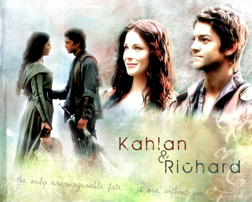 coppie della TV wallpaper probably with a portrait titled richard and Kahlan >> Legebd Of The Seeker