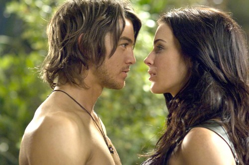 荧幕情侣 壁纸 possibly containing a portrait called richard and Kahlan >> Legend Of The Seeker