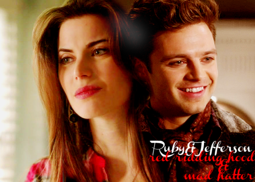 ruby & jefferson ( red & hatter )
