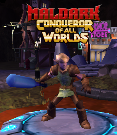 Maldark Conqueror Of All Worlds