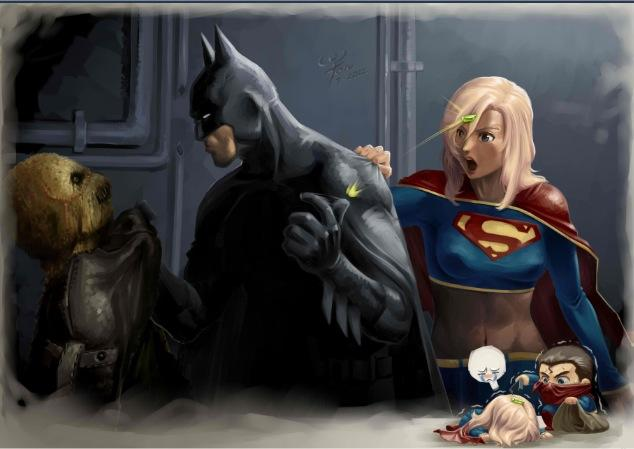 supergirl saves scarecrow