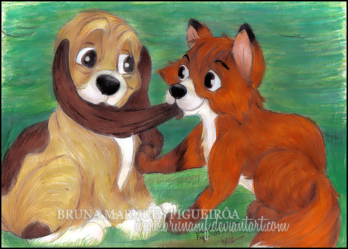 The Fox and the Hound the fox and the hound