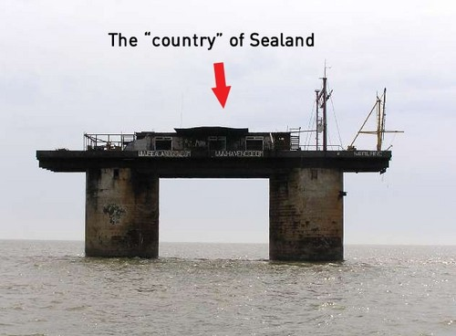 the mighty nation of sealand
