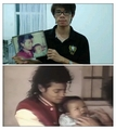 then & now  - michael-jackson photo