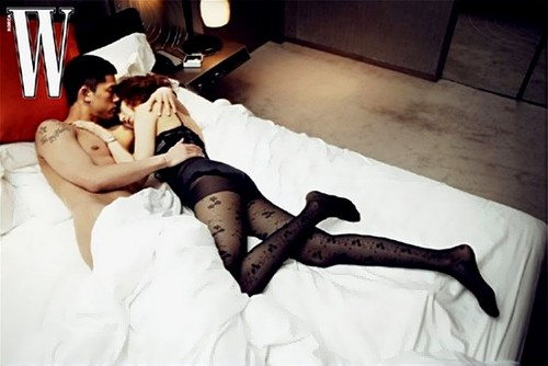 DARA 2NE1 fondo de pantalla possibly containing skin called yoon eun hye sexy loneliness W magazine