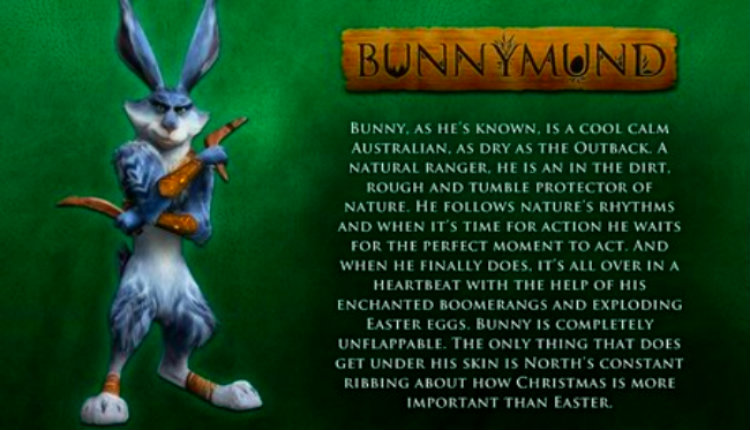 Rise of the guardians ★ bunnymund ☆