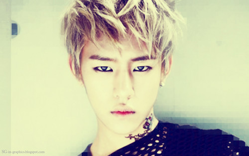 Daehyun Hintergrund with a portrait called ♥Daehyun♥