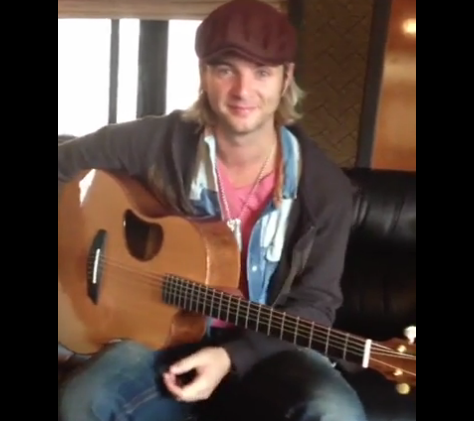 "Keith Harkin wallpaper containing a guitarist and an acoustic guitar called ""Happy Birthday Aiofe"""