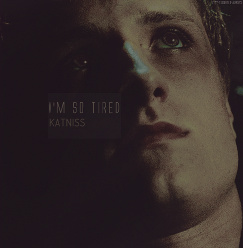 ''I'm so tired,Katniss''