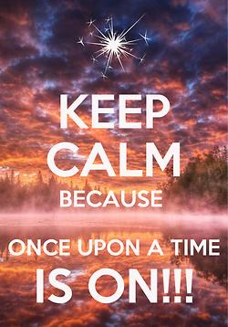 'Keep Calm' OUAT Fandom Poster