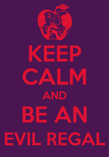 'Keep Calm' OUAT Fandom Poster