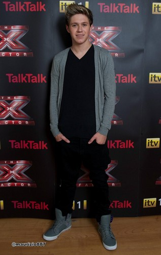 Niall Horan X Factor UK- , 2012