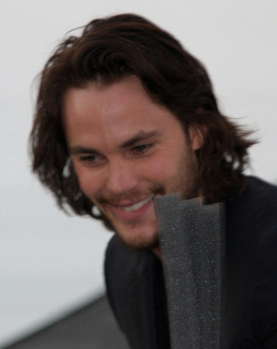 Taylor Kitsch wallpaper possibly with a business suit and a portrait called ♥♥ Taylor Kitsch ♥♥