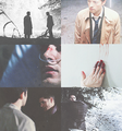 ➞ dean&castiel - dean-and-castiel fan art