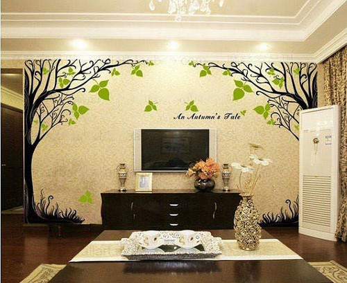 A Autumn's tale Tree Wall Sticker