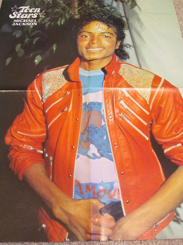 A Vintage Micheal Jackson Calendar From The 1980's