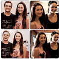 A fan met Jennifer and Josh during CF filming  - josh-and-jennifer photo