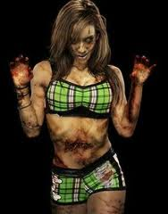 AJ Lee images AJ LEE as Zombie <3 wallpaper and background photos