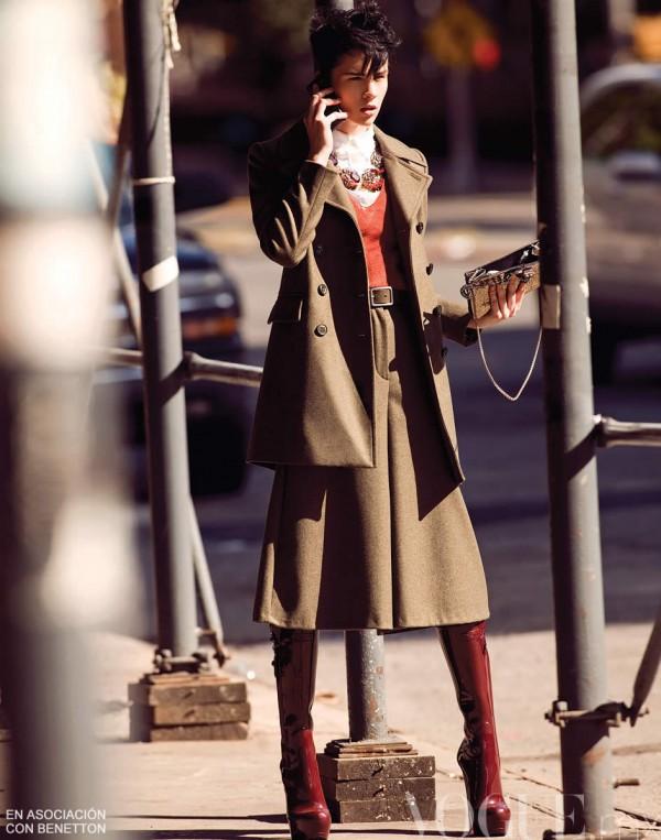 ANTM Cycle 16 Winner Brittani Kline in Vogue Mexico November 2011