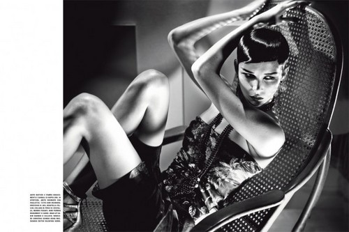 ANTM Cycle 16 Winner Brittani Kline's Vogue Italia Editorial