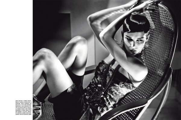 ANTM Cycle 16 Winner Brittani Kline's Vogue Italia Editorial