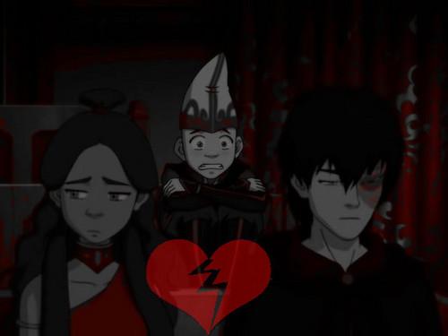 Aang is on to Zutara