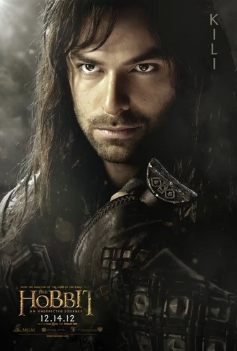 Aidan Turner as Kili