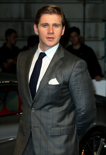 Allen Leech at Aston Martin Screening of 'Skyfall'