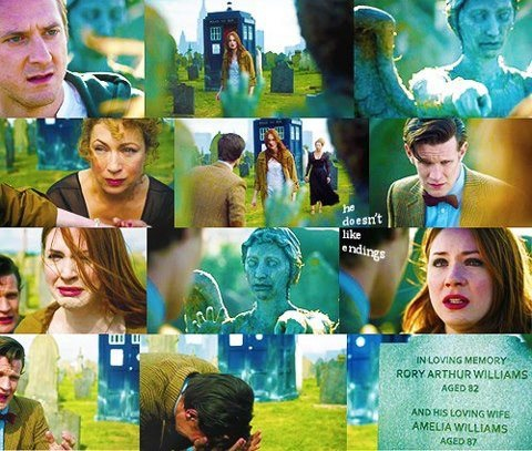 Amy & Rory's farewell in a nutshell...