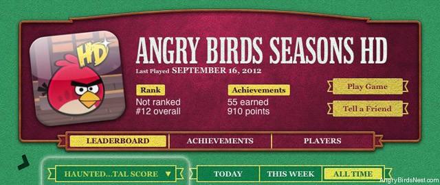 Angry Birds Seasons Dia das bruxas