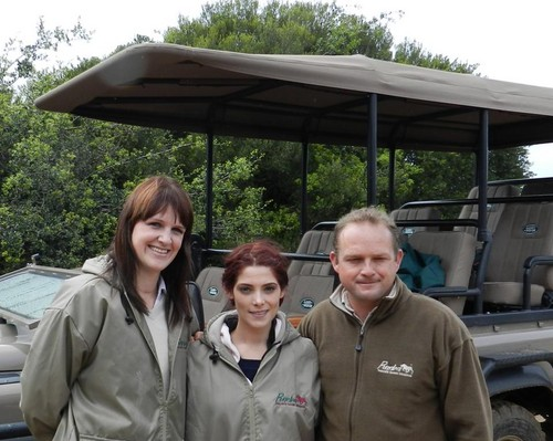 Ashley visits the Pumba Private Game Reserve in Johannesburg, South Africa. - ashley-greene Photo
