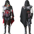 Assassin's Creed II Ezio Black Edition Cosplay Costume - assassins-creed photo