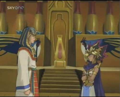 Yu-Gi-Oh 壁纸 called Atem meets Alexander the Great