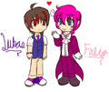 Aww~ &lt;3 -Fabian X Lukas- - blazeandarose fan art