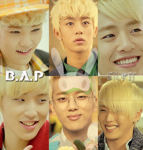 B.A.P(STOP IT)