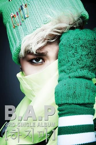 B.A.P Zelo 3rd Single Album