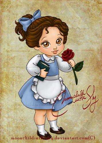 Belle wallpaper possibly with anime entitled Baby Belle