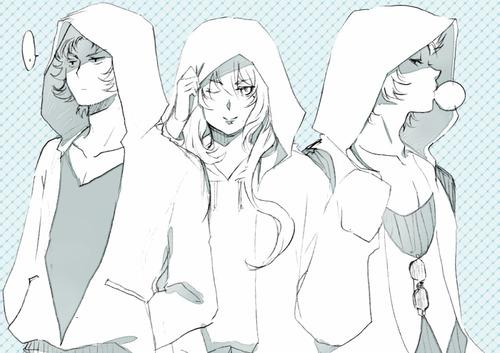 Bad Touch Trio (Saint Seiya Style)