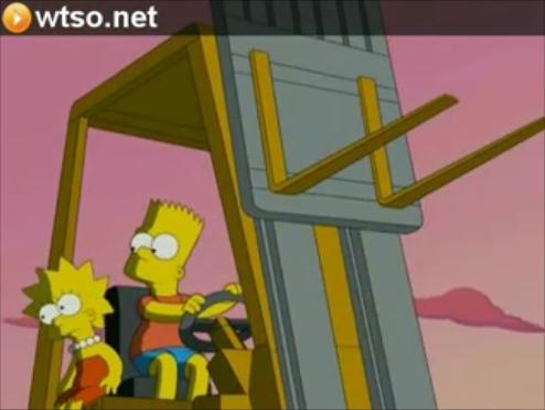 Bart and Lisa Shading